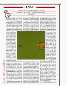 L'indice settembre 14 fantasy terra ignota vanni santoni